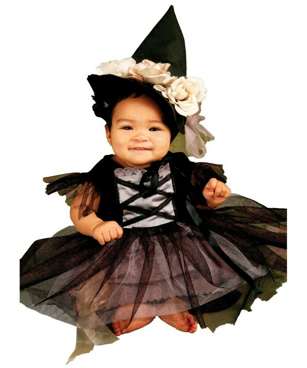 Lace Witch Baby Halloween Costume - Girls Witch Costumes