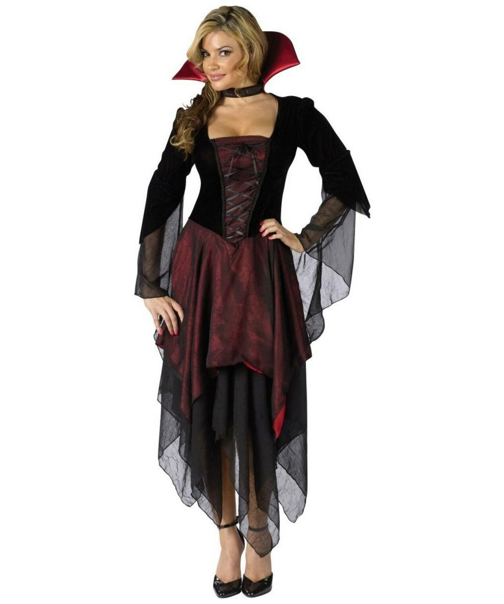 lady dracula women plus size costume. Black Bedroom Furniture Sets. Home Design Ideas