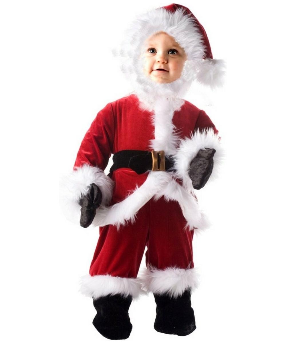 Kids Little Santa Christmas Costume - Boys Santa Costumes