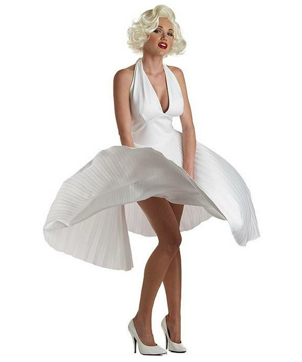 Marilyn Costume Adult Costume Deluxe Movie Costumes At
