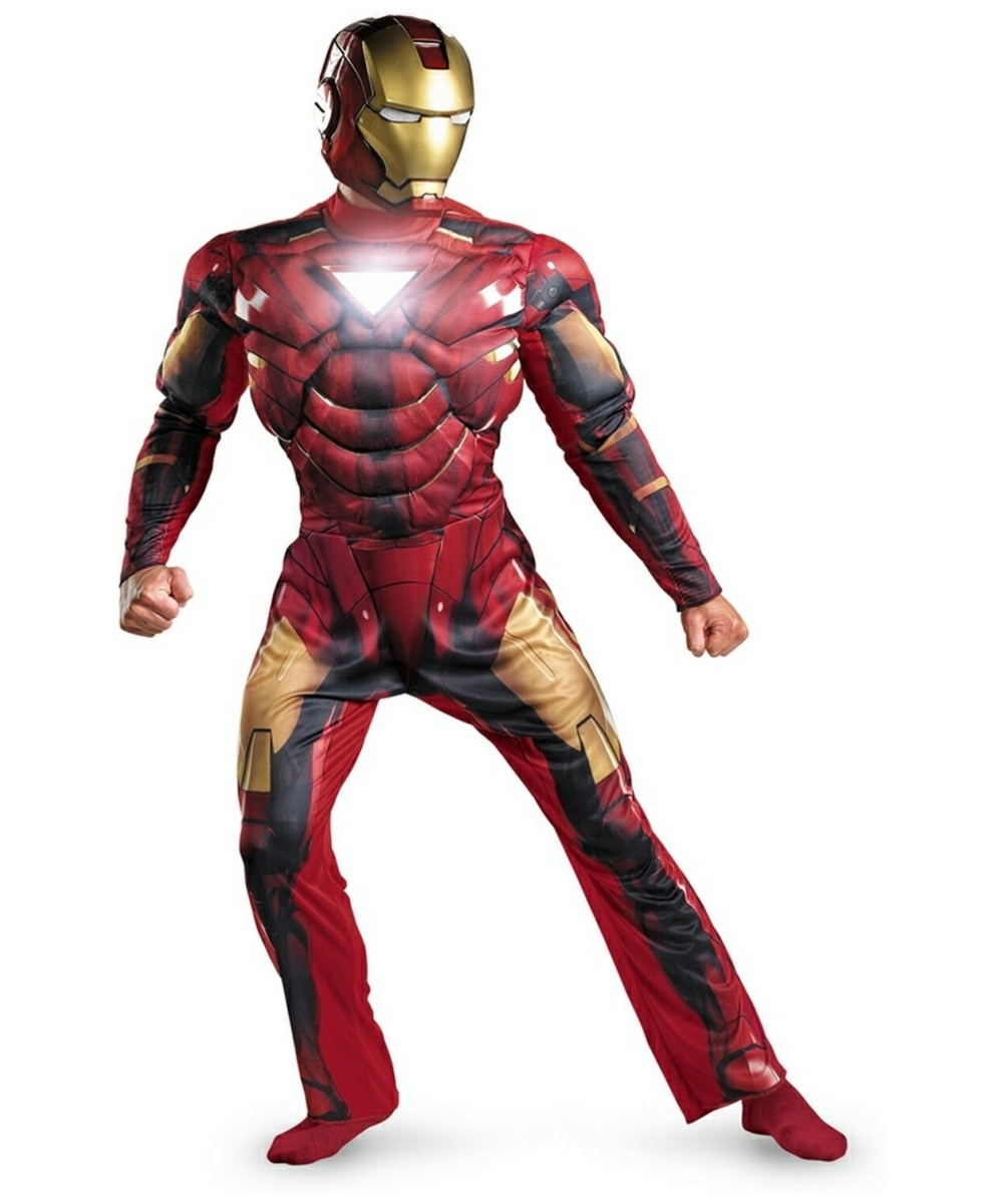 adult iron man 2 mark vi ironman movie costume ironman costumes. Black Bedroom Furniture Sets. Home Design Ideas