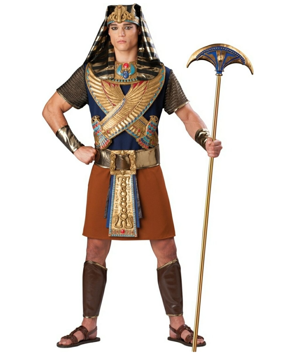 Pharaoh Mighty Adult Costume - Men Egyptian Costumes