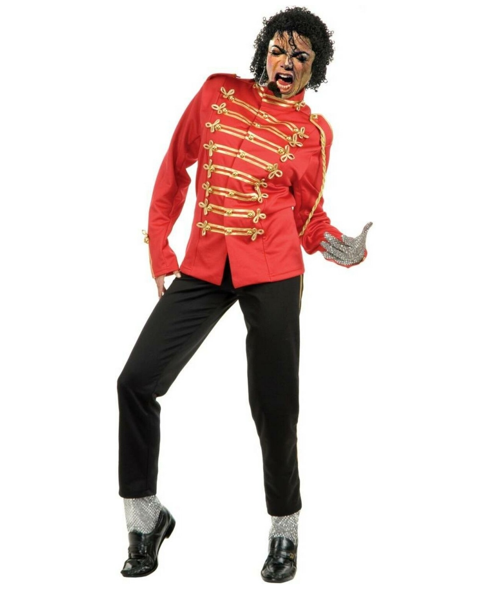 Michael Jackson Curly Wig - Adult Wig - 80s Halloween Wig at ...