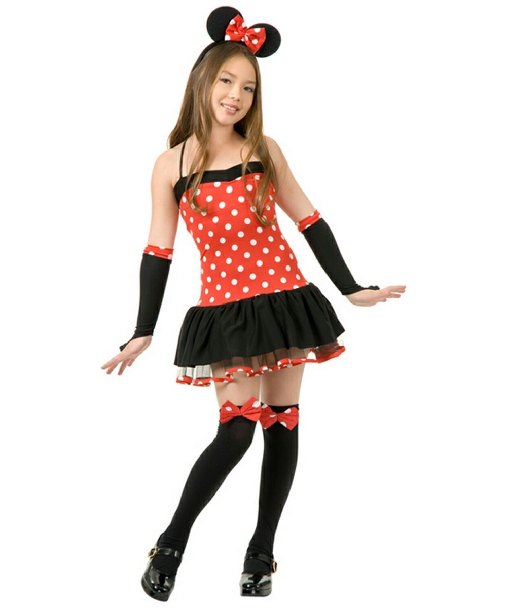 Miss Mouse Girl Halloween Costume - Girl Costumes
