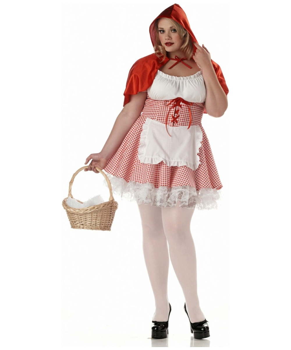 Adult Miss Red Riding Hood Movie Costume - Women Red Ridding Hood ...