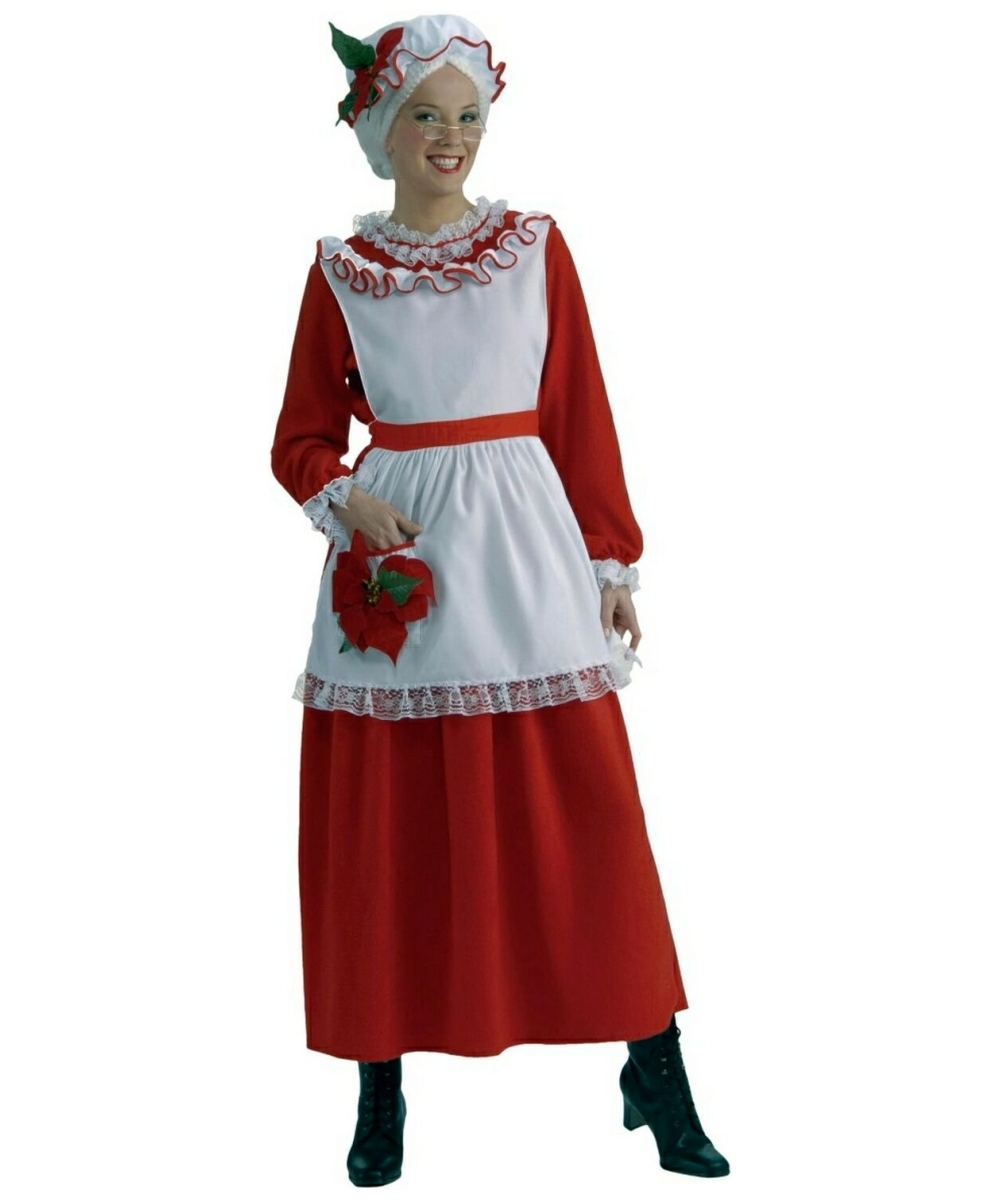 Mrs Claus Costume Adult Costume Halloween Halloween