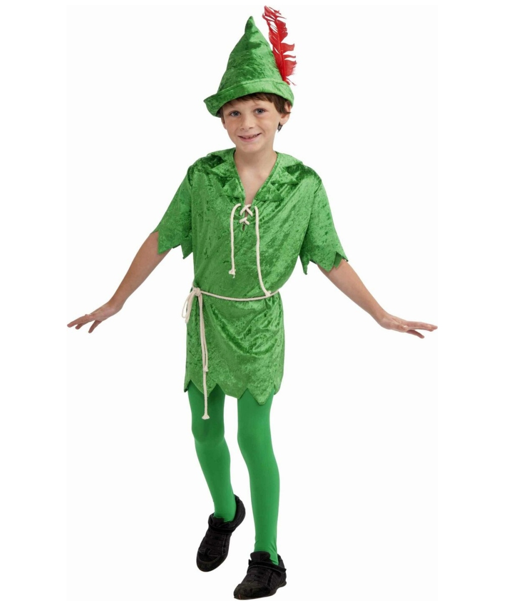 kids peter pan disney halloween costume disney costumes. Black Bedroom Furniture Sets. Home Design Ideas