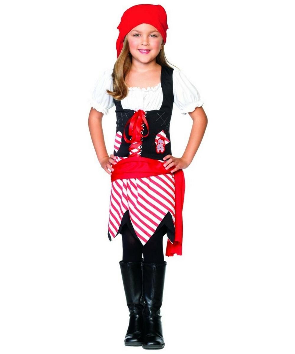 Как сделать костюм пирата для девочки