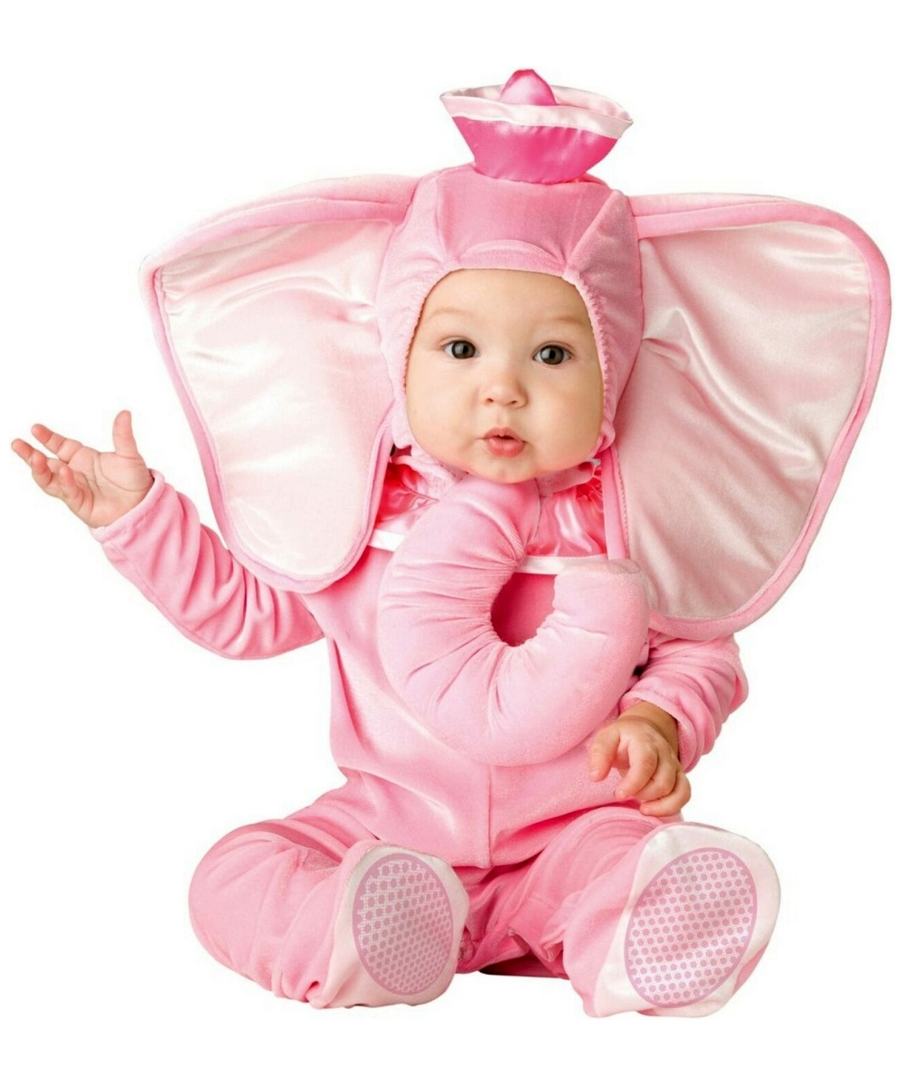 Pink Elephant Costume Infant Toddler Halloween