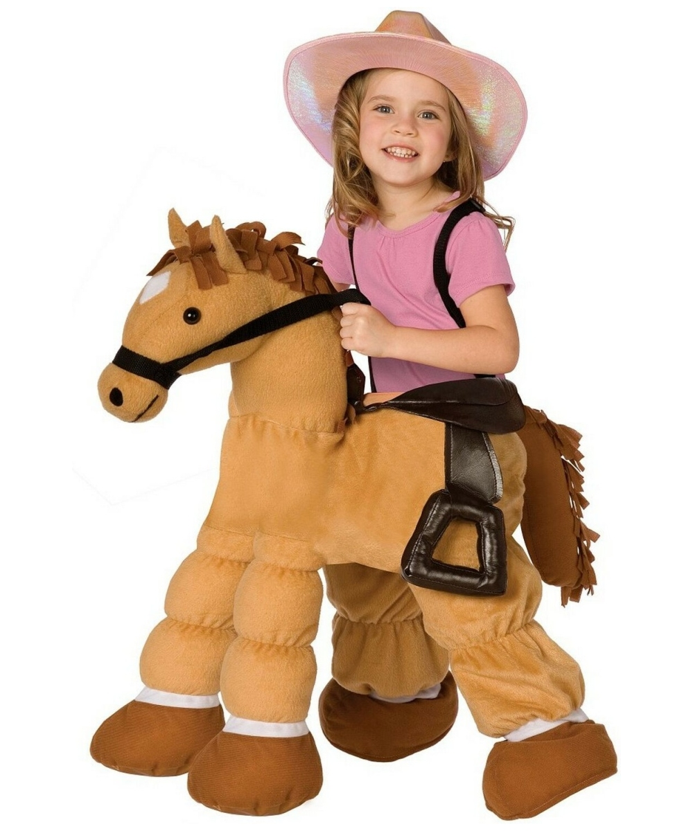 Plush Pony Kids Costume