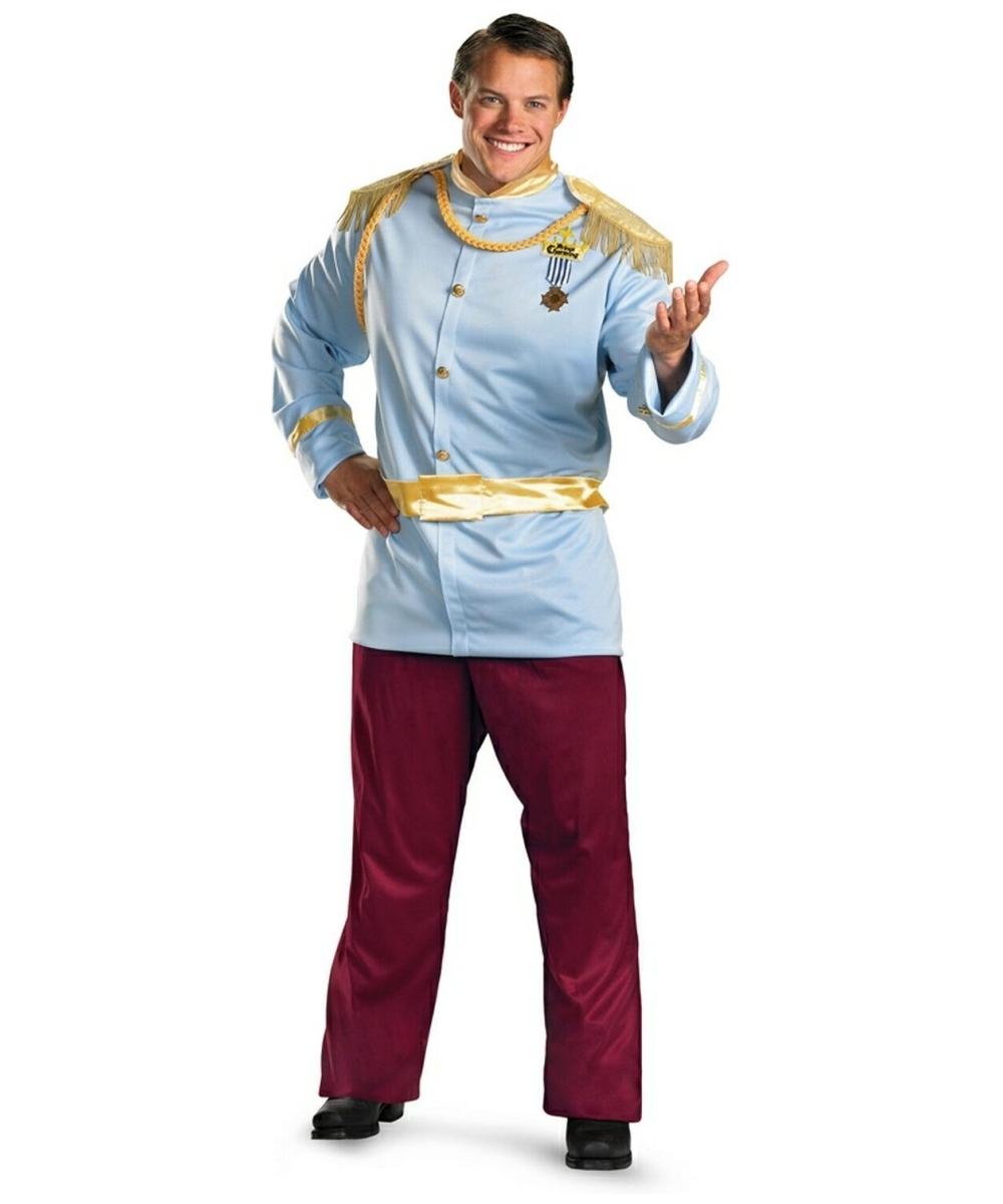 adult prince charming disney princess costume men prince charming costumes - Prince Charming Halloween Costumes