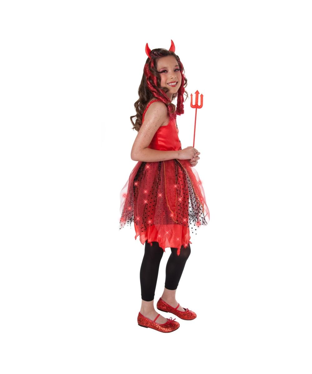 Kids devil halloween costumes return