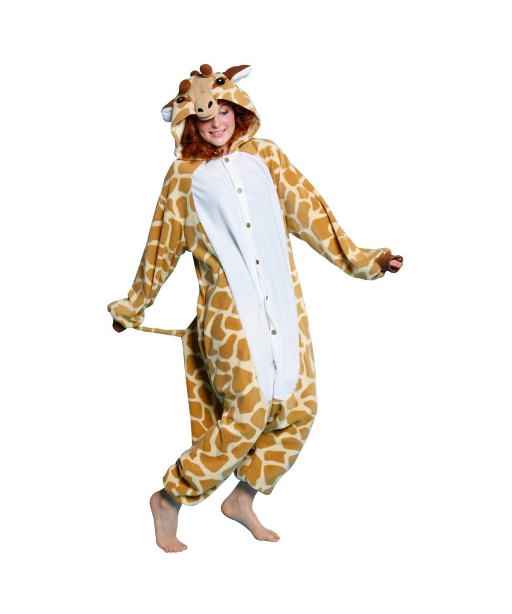 Adult Giraffe Animal Costume - Halloween Costumes