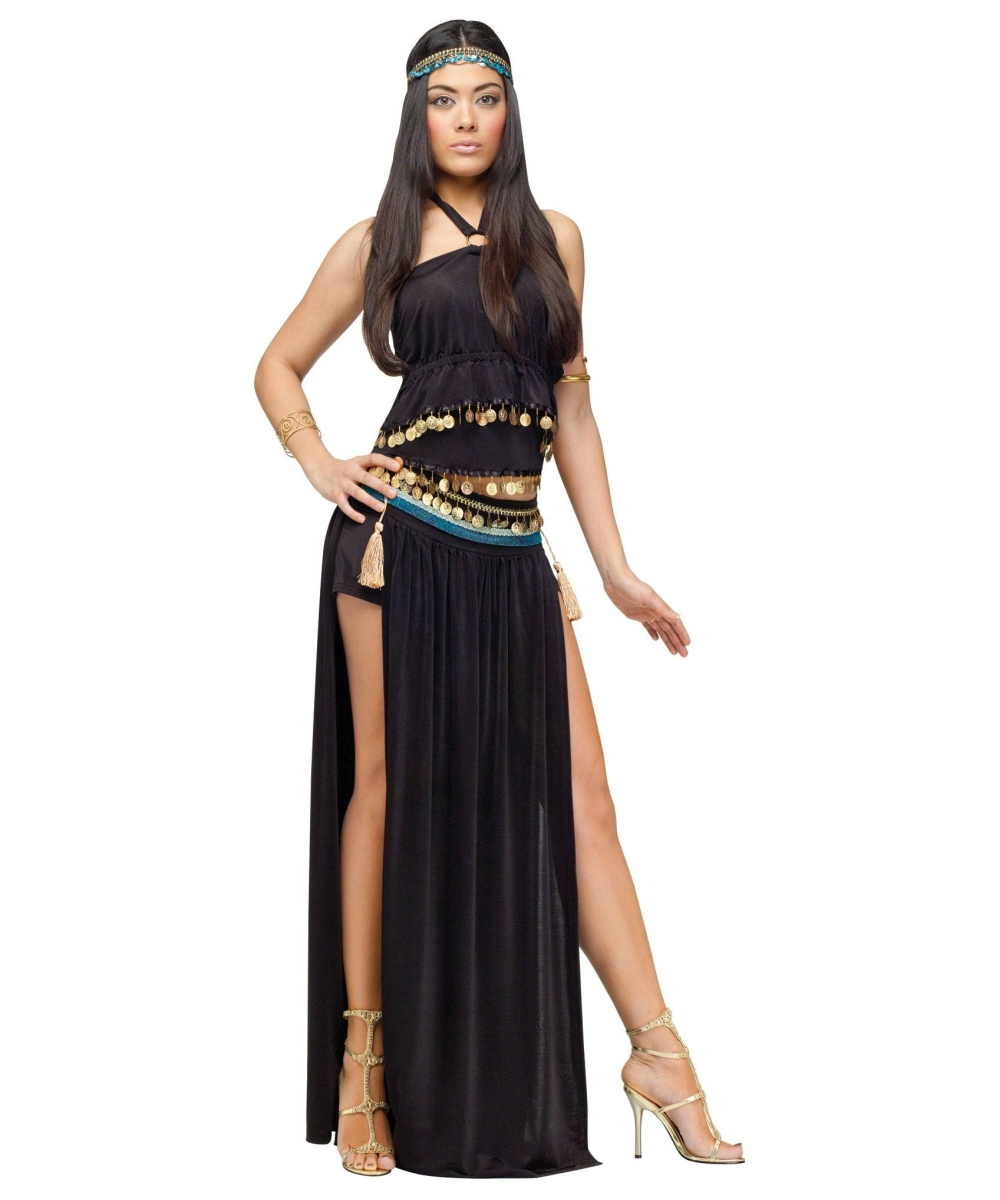 Perfect Egyptian Queen Cleopatra  Wig Ladies Fancy Dress Egypt Womens Costume