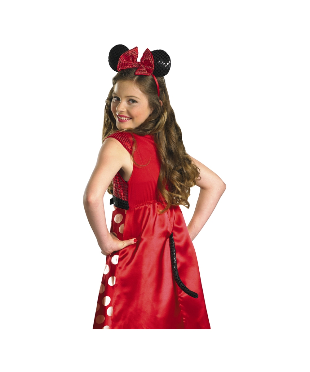 Toys For Tweens 2012 : Minnie mouse disney kids costume red halloween