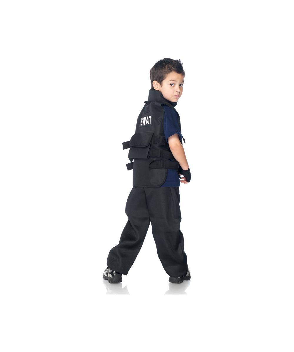 Swat Commander Kids Costume - Kids Costumes
