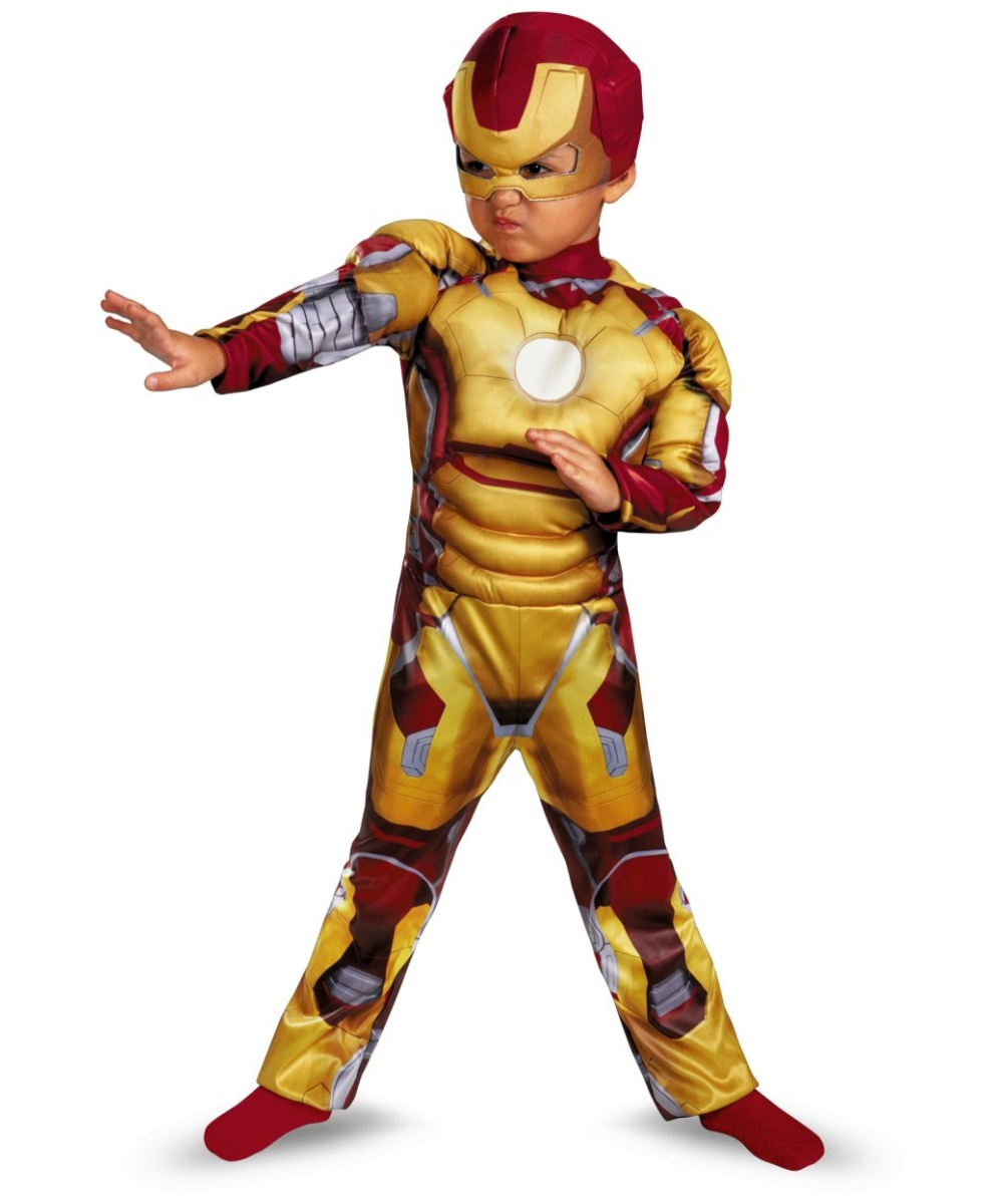 iron man muscle boys costume iron man superhero costumes. Black Bedroom Furniture Sets. Home Design Ideas