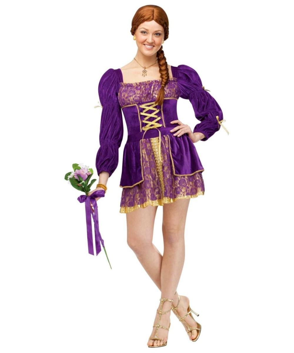 Adult rapunzel costume