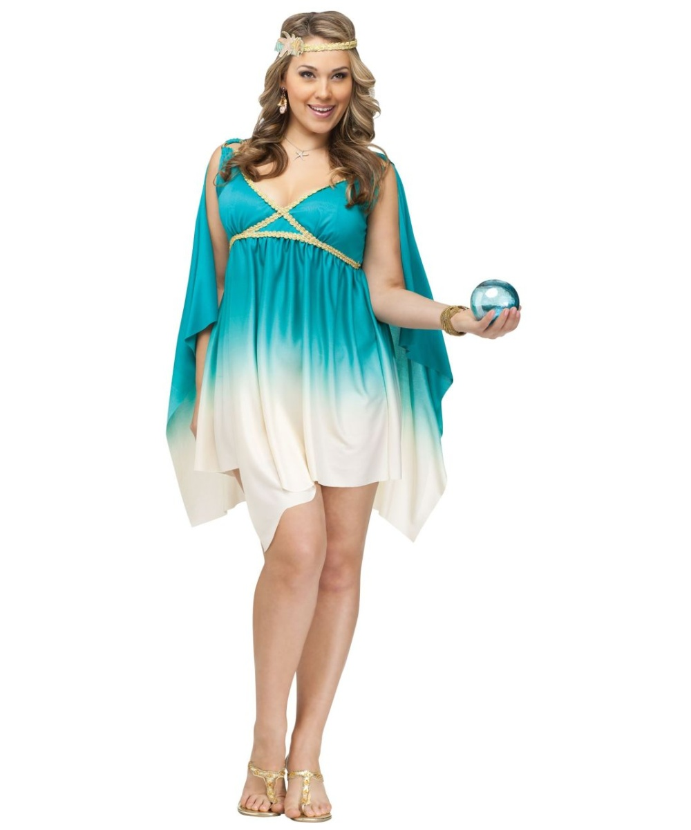 Goddess of the Sea Plus size Costume
