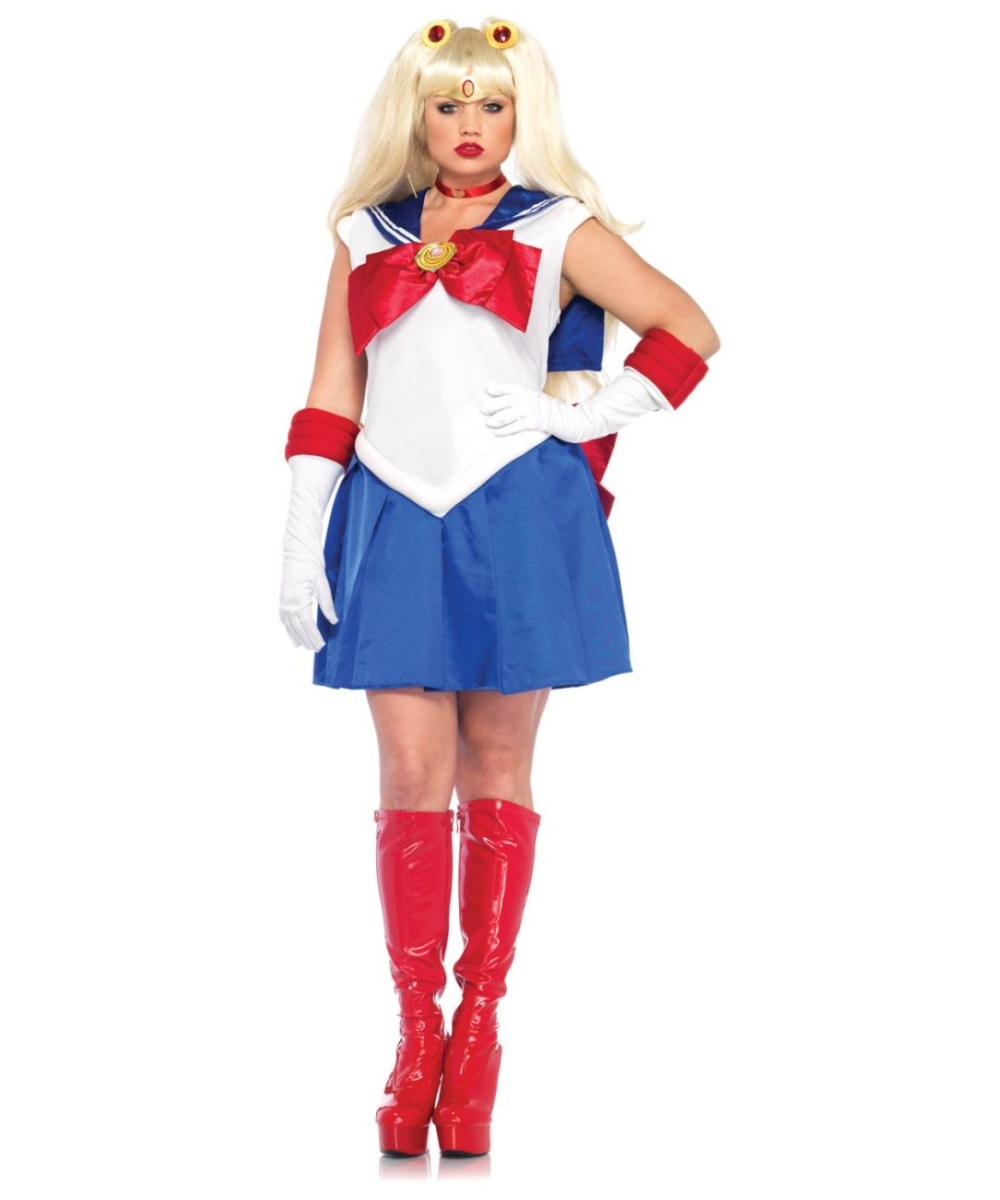Sailor Moon Deluxe  Plus Costume