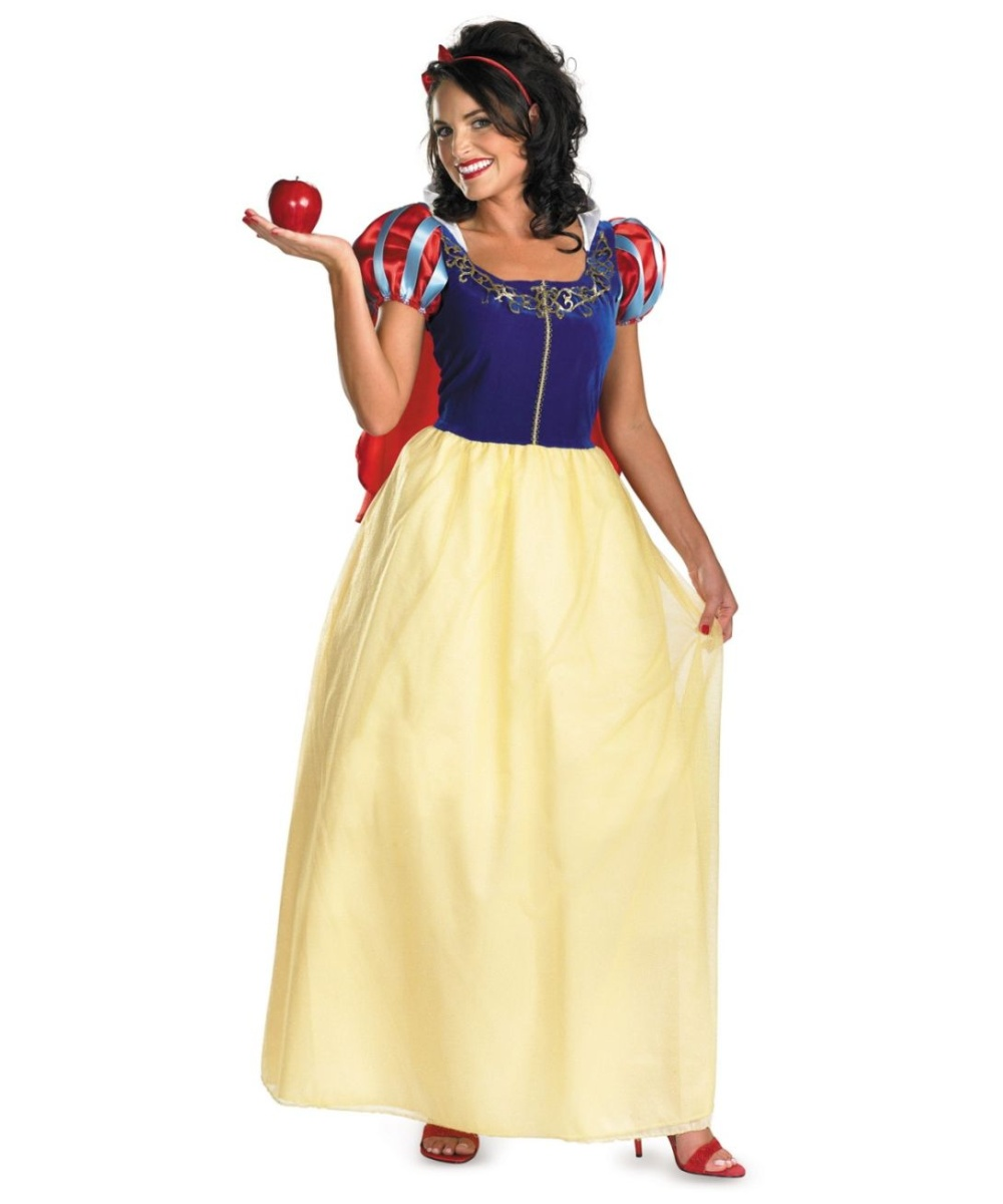 Excellent and snow white adult costume think