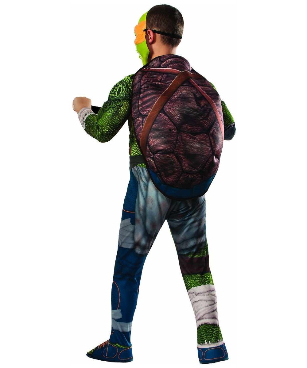 Ninja Turtles Michelangelo Boys Costume - Boys Costume
