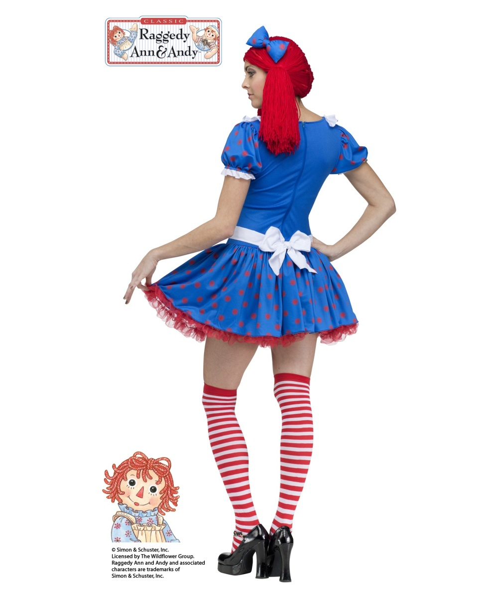 Sexy raggedy ann costumes