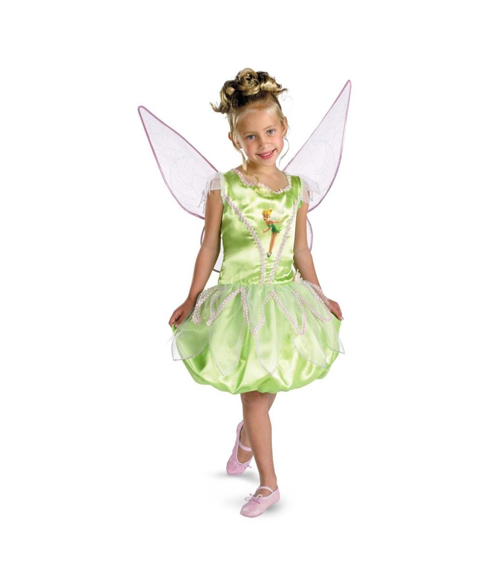 tinkerbell disney kids costume girls disney tinker bell costumes. Black Bedroom Furniture Sets. Home Design Ideas