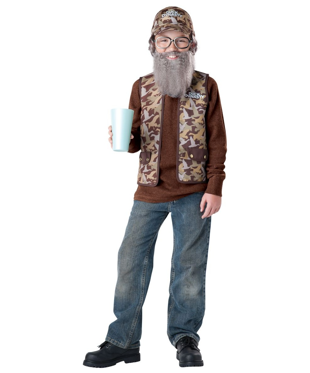 Kids Costumes → Boys Costume → Duck Dynasty Uncle Si Boys Costume