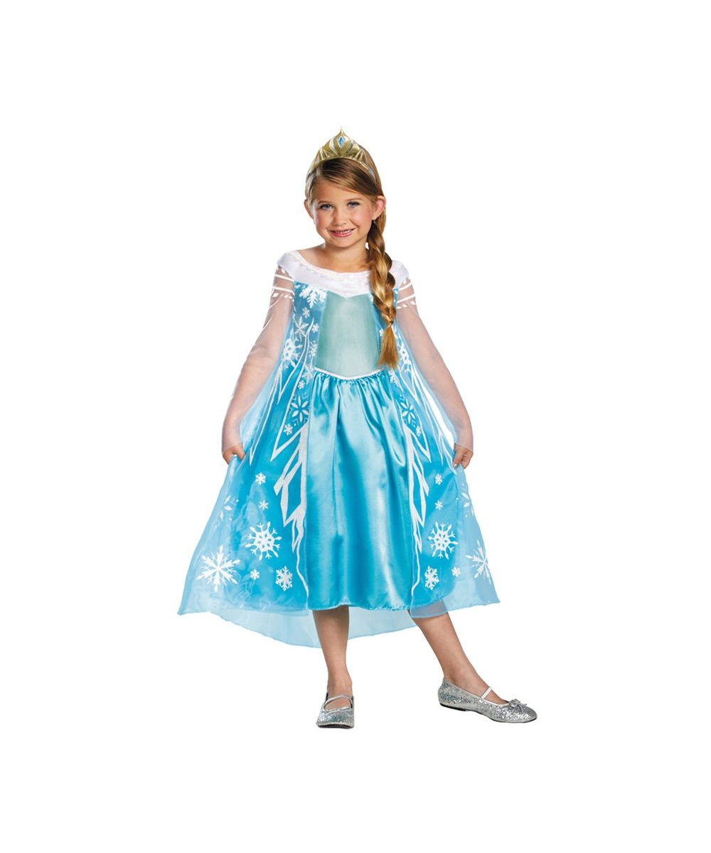 disney frozen elsa girls costume