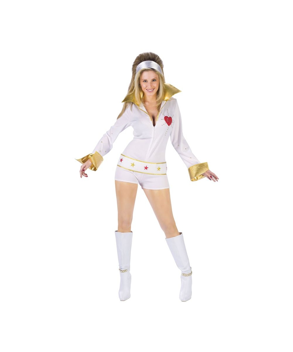 Elvis Female Women Costume
