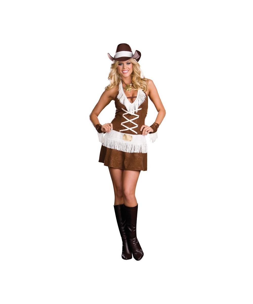 Женский костюм ковбоя доставка