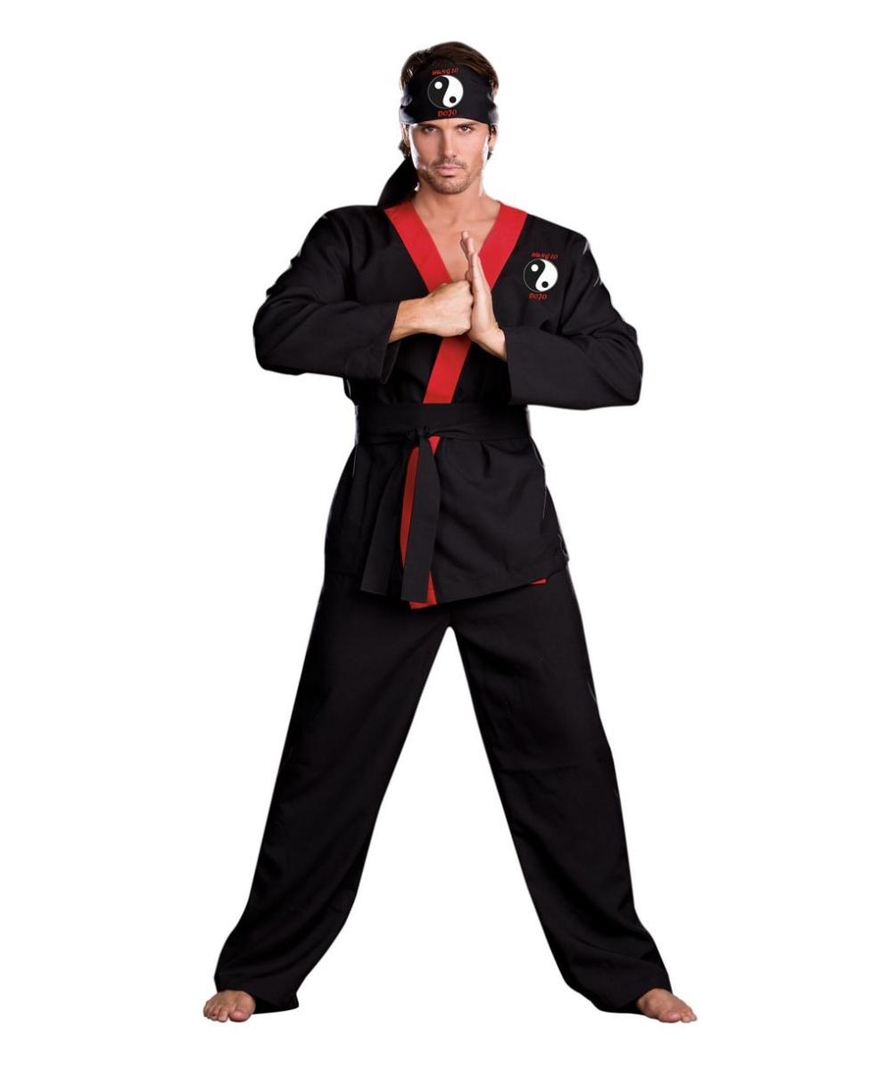 Adult ninja costume medium