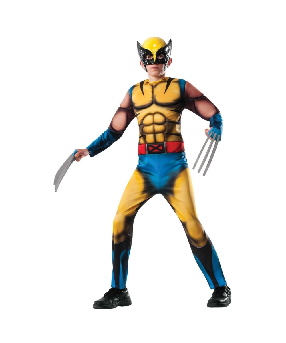 Boys Superheroes & Villains Costumes The cape, the muscles, the colorful costumes; kids of all ages love boys superhero costumes. With so many super hero Halloween costumes for boys to choose from, parents are certain to find the costume that is just perfect for their son.