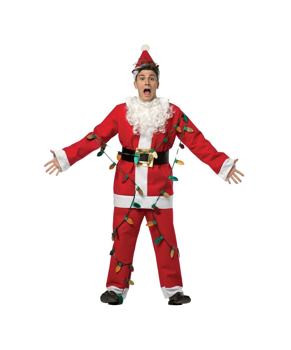 Mens costume national lampoon s christmas santa costume