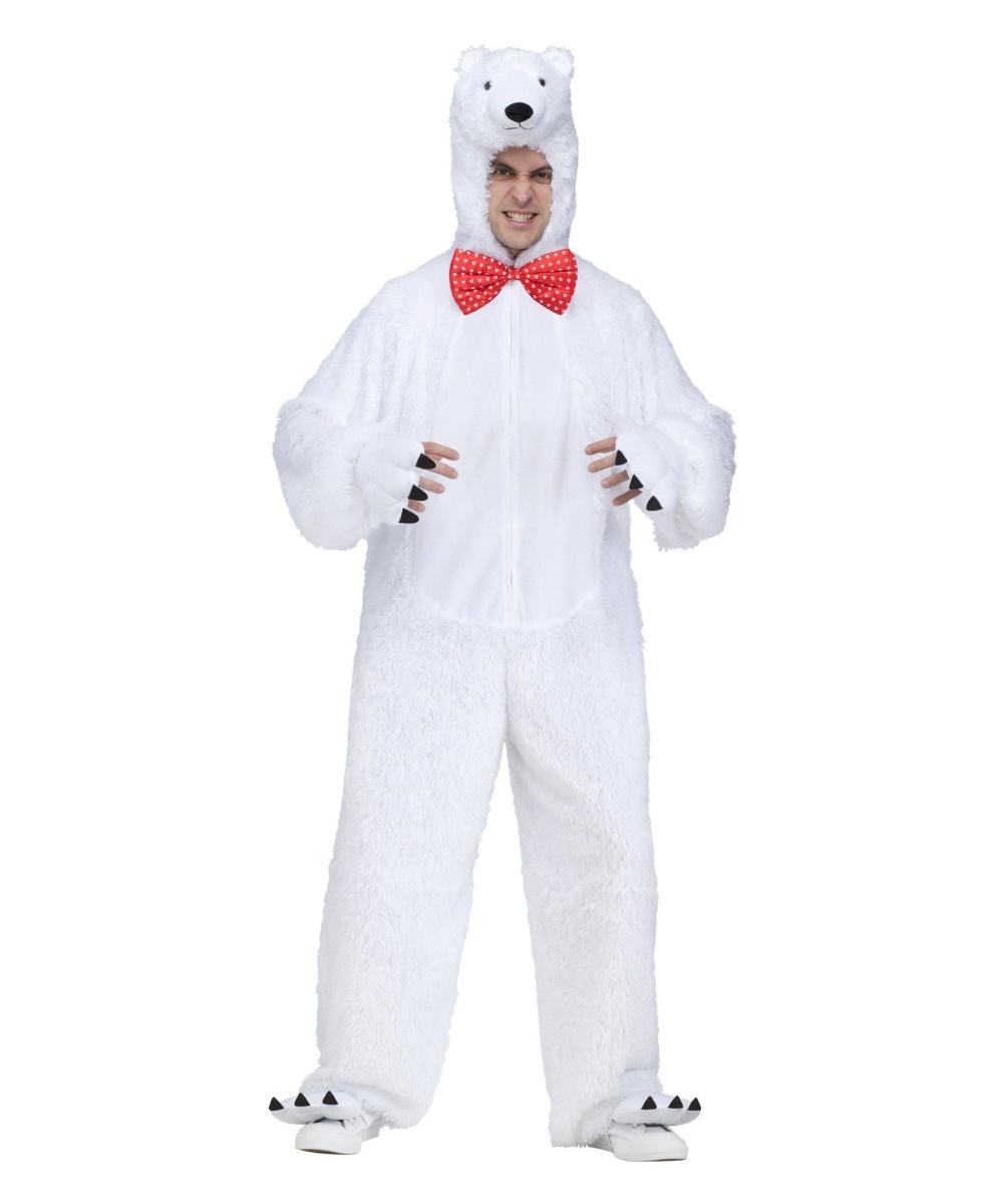 Bear Halloween Costume Men Polar Bear Mens Costume Men