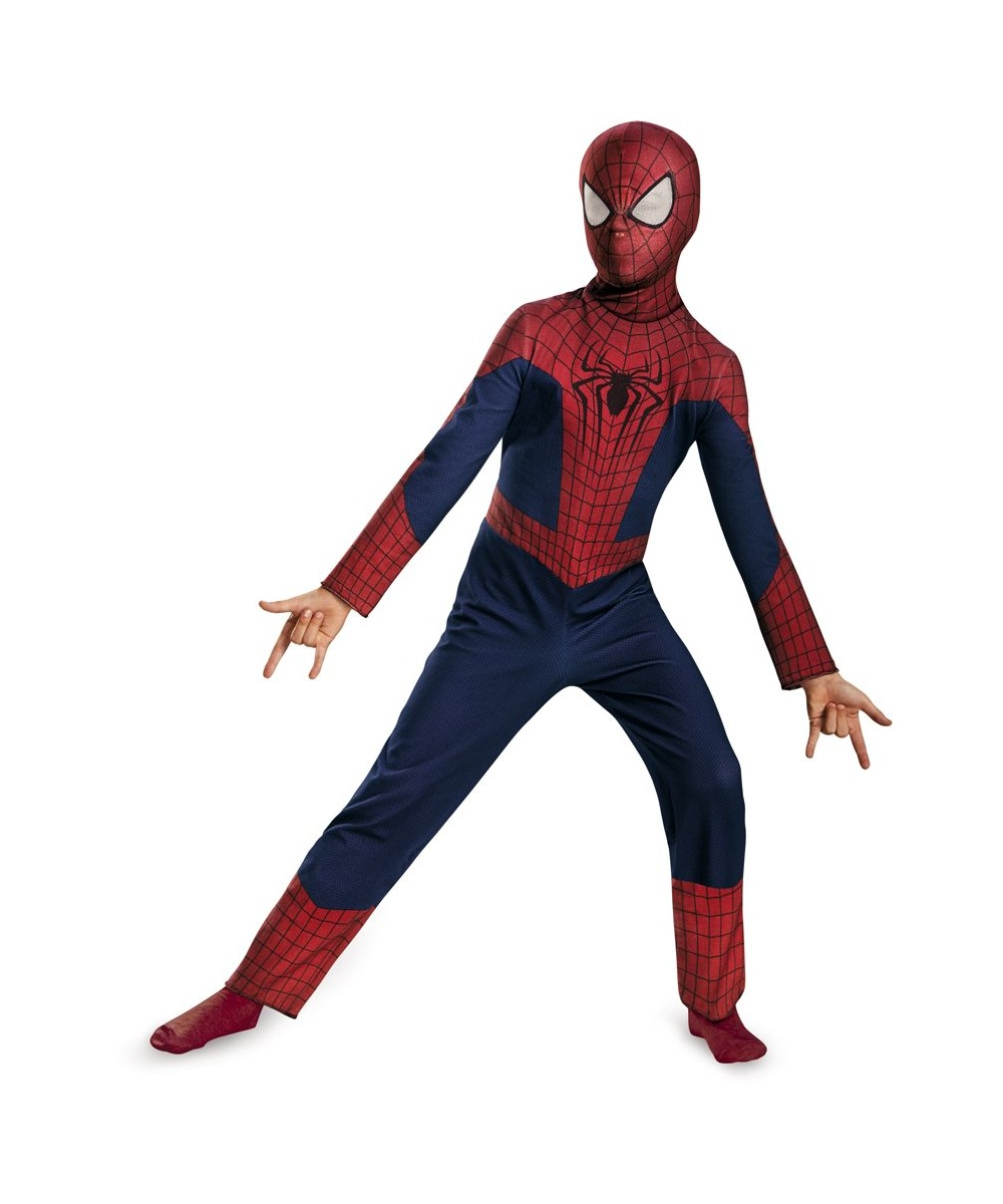The Amazing Spider - man Movie 2 Boys Costume