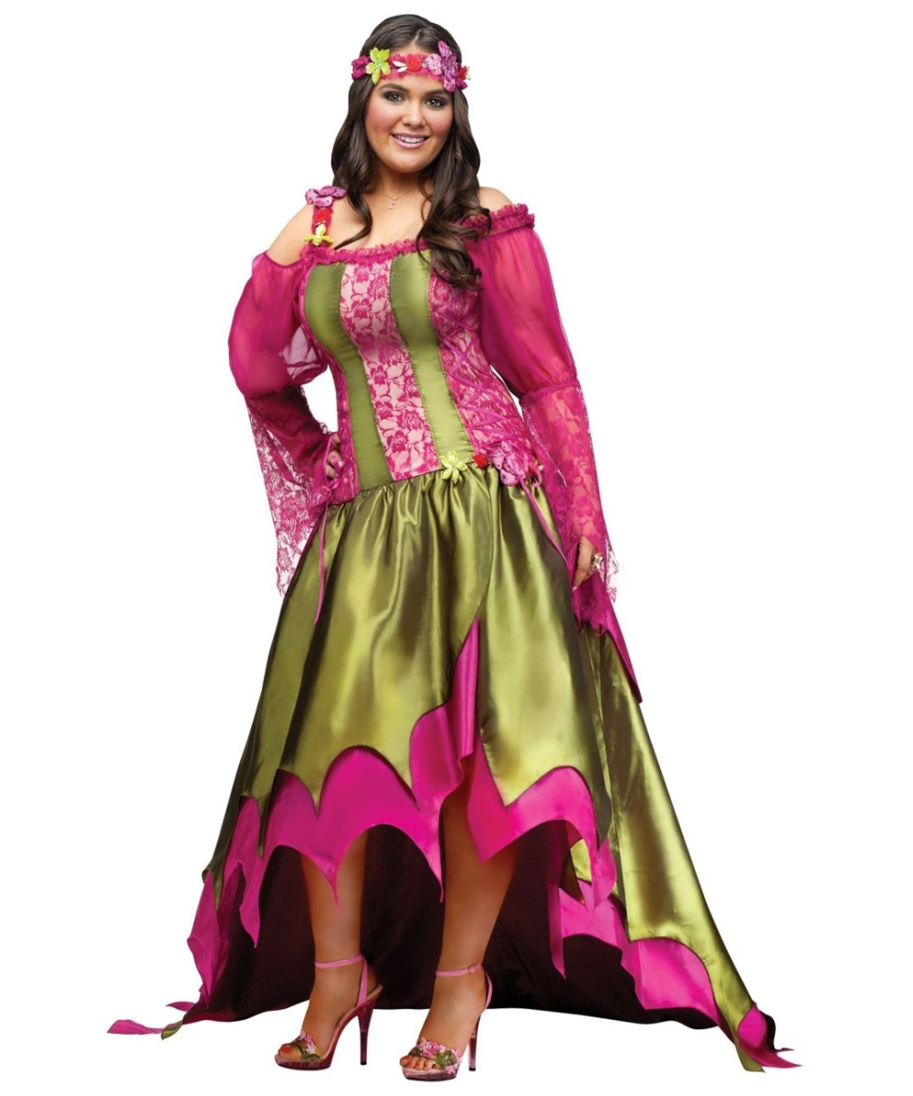 The Fairy Queen Womens Plus Size Costume Theatrical - Women Costume