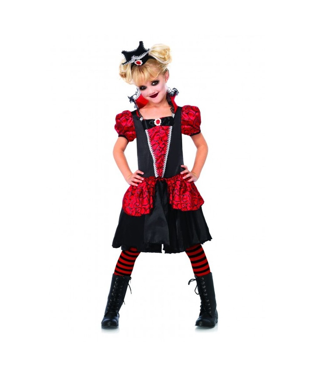 costumes adult costumes women costumes vampire queen girls costume    Vampire Queen Costume For Kids