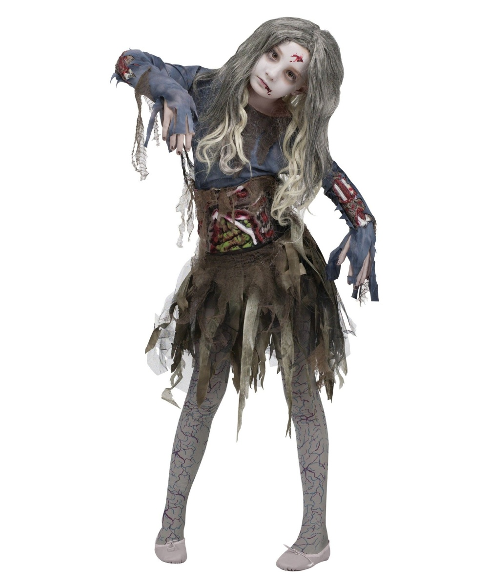 Halloween Zombie Costumes For Girls Zombie Girls Costume