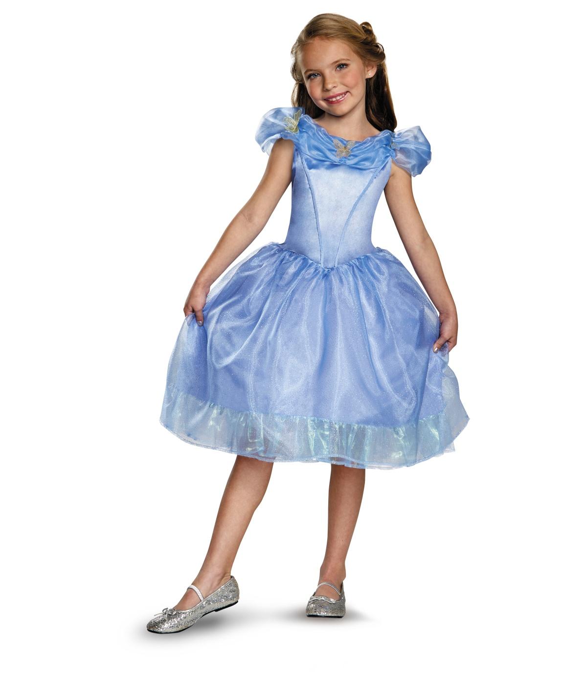 kids cinderella disney movie classic girls costume. Black Bedroom Furniture Sets. Home Design Ideas