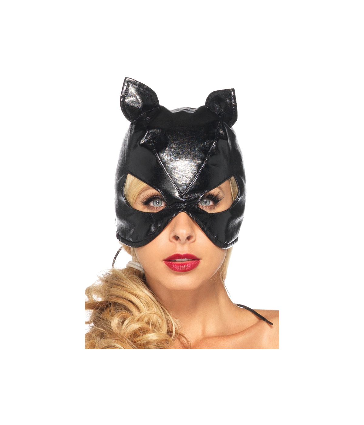 ... -> Superhero Costumes -> Catwoman Costumes -> Black Leather Cat ...