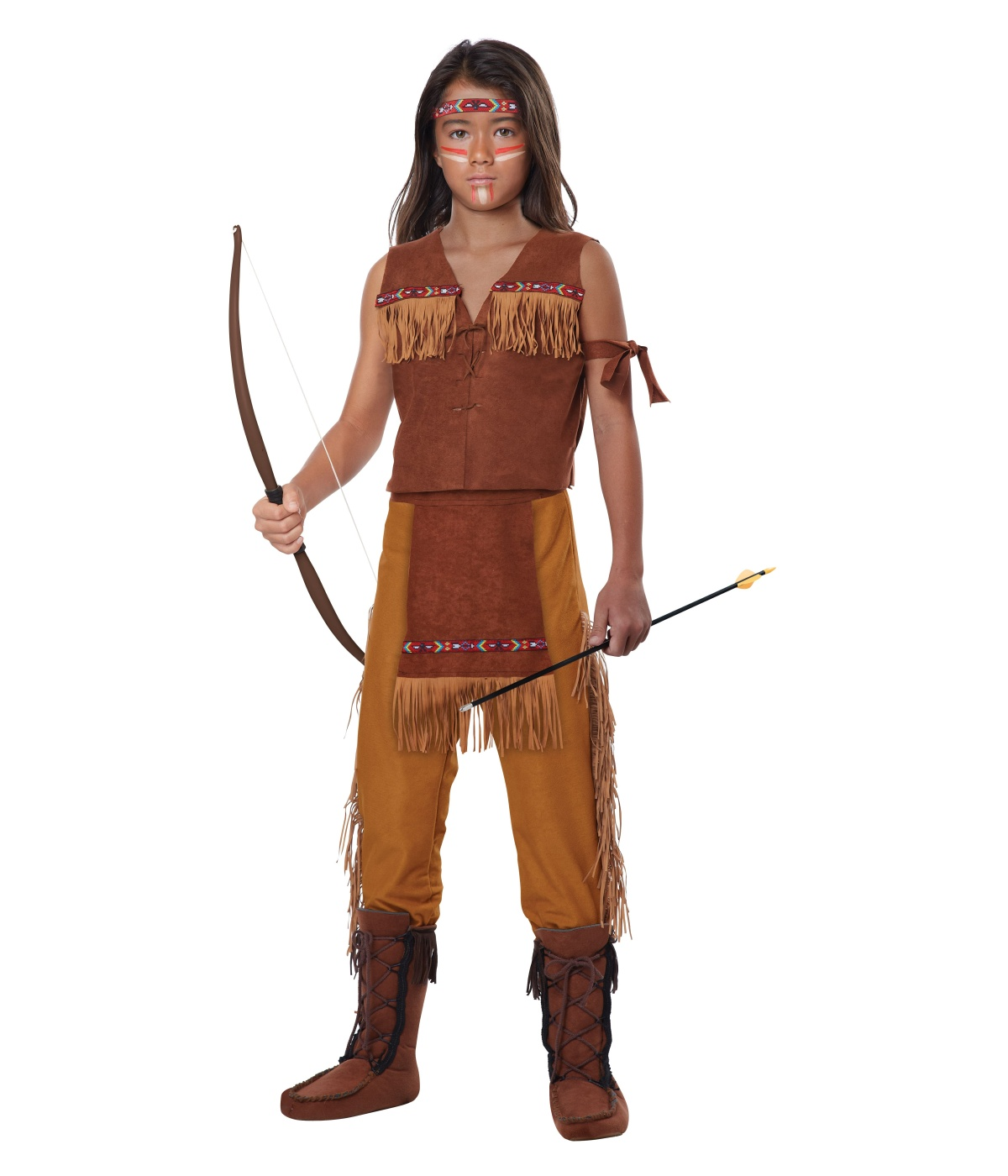 Costumes     Boys Costume     Classic Native American Boys CostumeNative American Boy Costume