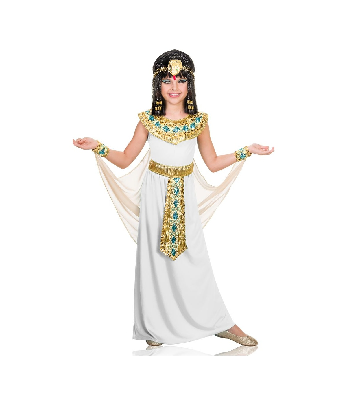 Cleopatra Pharaoh of Egypt Girls Costume - Egyptian Costumes
