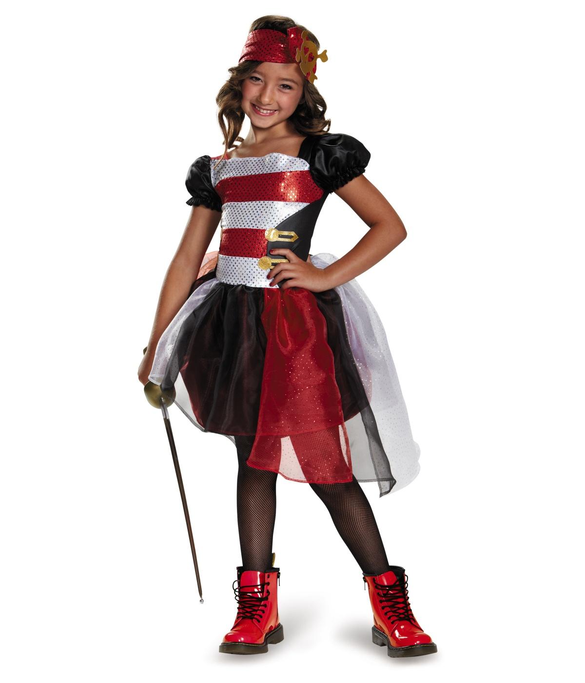 Cute-Sea Pirate Darling Girls Costume
