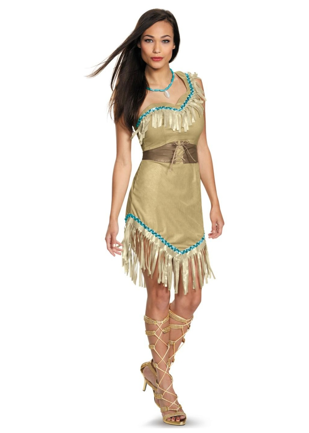 disney princess pocahontas womens costume indian costumes. Black Bedroom Furniture Sets. Home Design Ideas