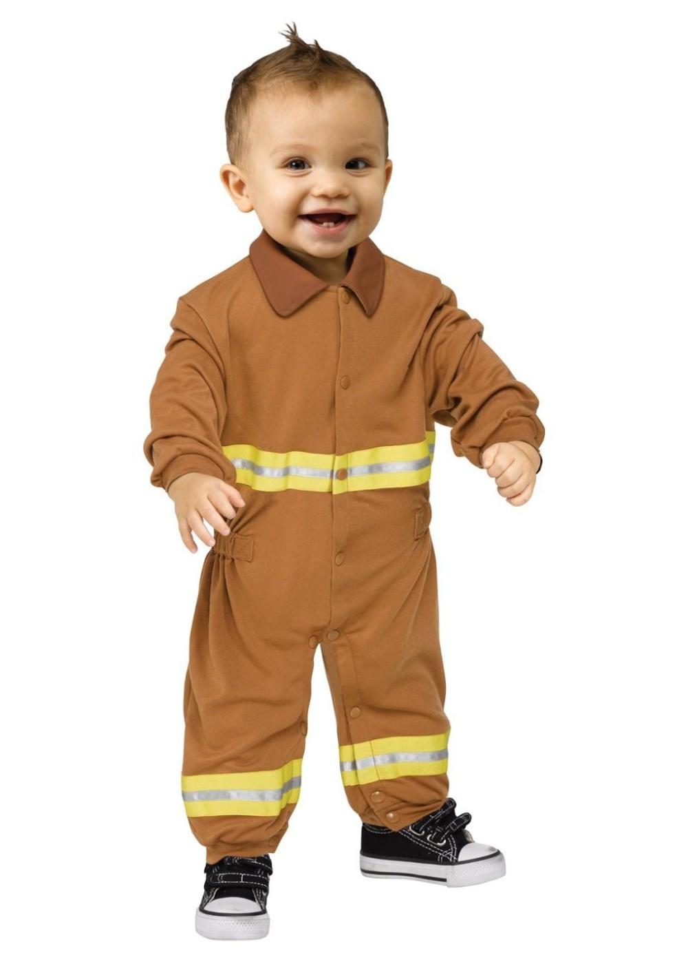 Fireman Baby Costume Professional Costumes