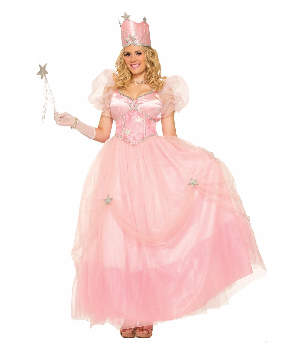 Not know. Adult costume glinda halloween