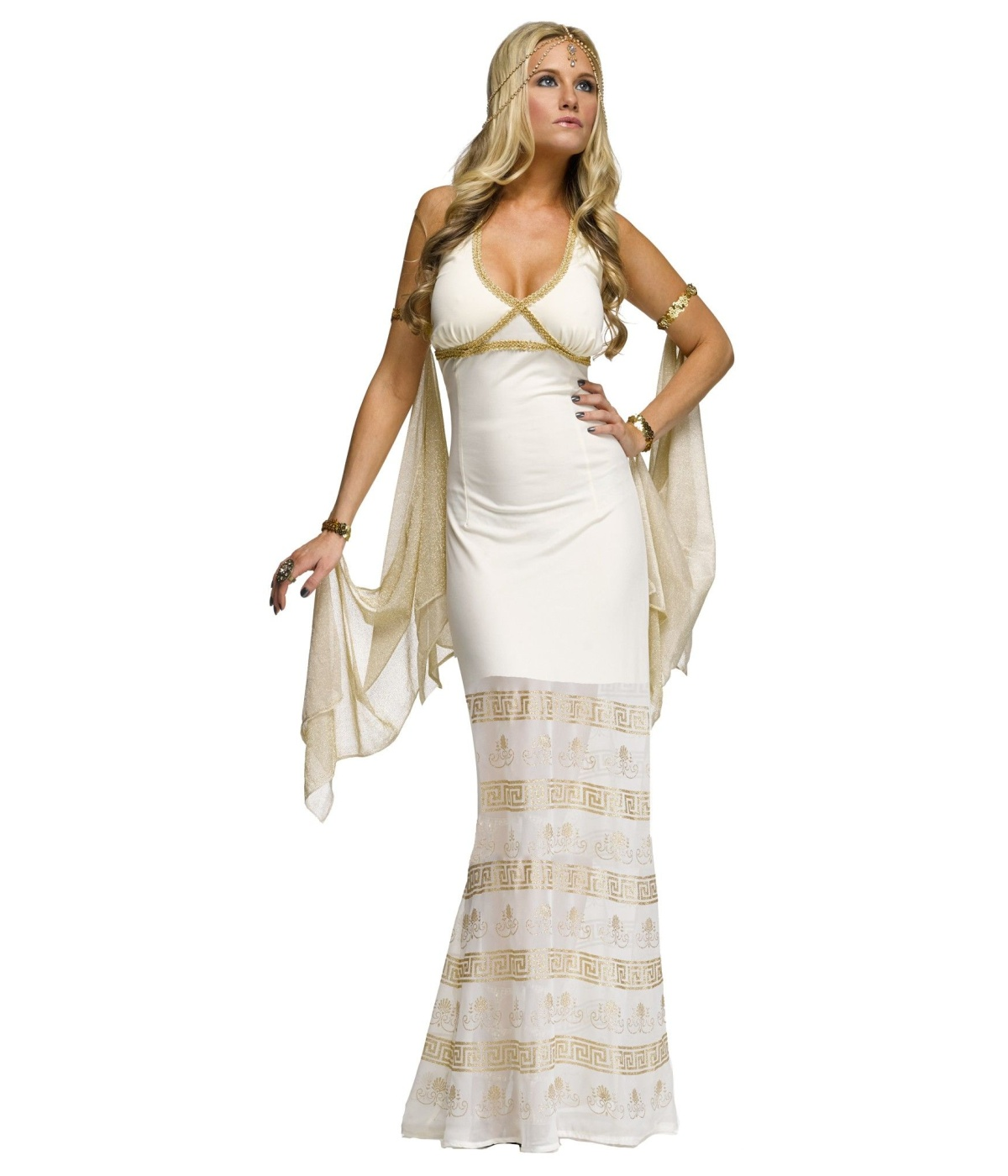 Greek Glamour Goddess Womens Costume