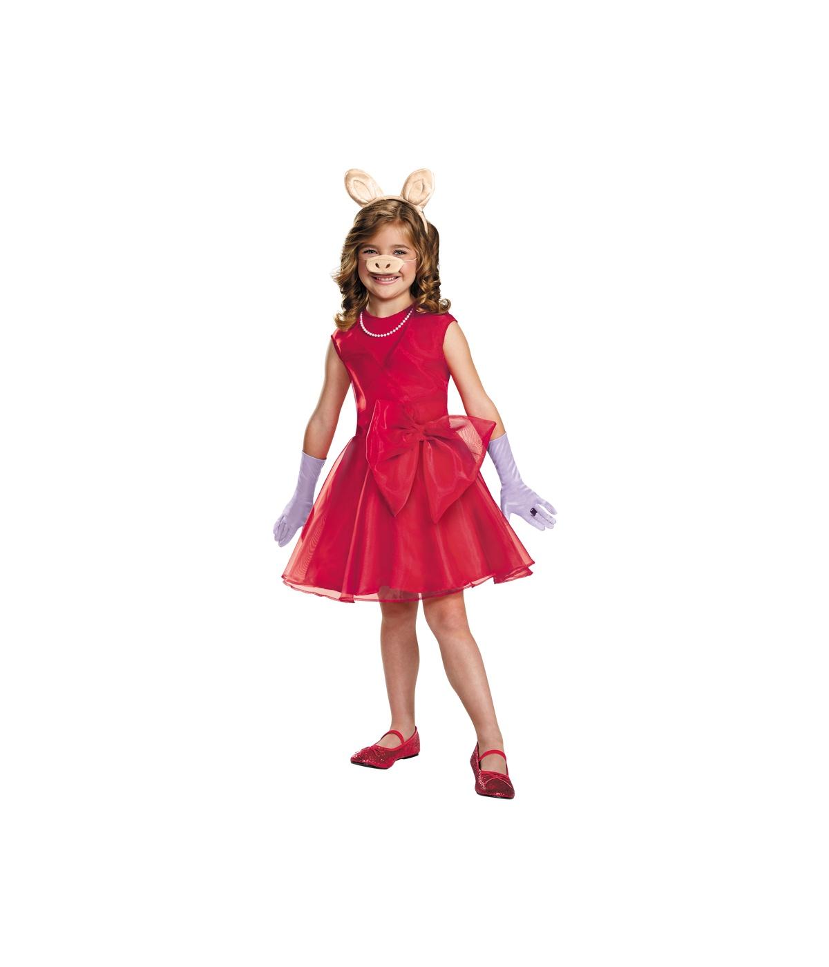 miss piggy classic girls costume tv show costumes. Black Bedroom Furniture Sets. Home Design Ideas